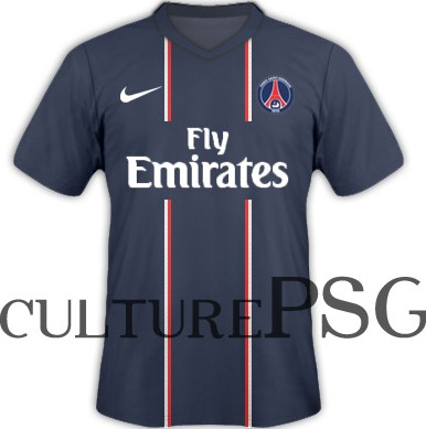 maillots psg 2012 2013 maillot bleu domicile psg mag le magazine du psg. Black Bedroom Furniture Sets. Home Design Ideas