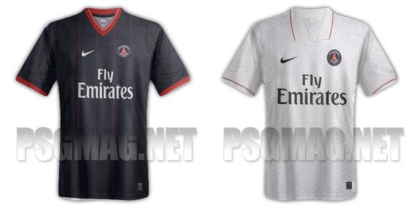 Maillots PSG 20122013 : maillot bleu à domicile ? PSG MAG